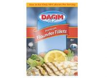 Dagim Flounder Fillets 14 oz bag