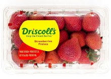 Driscoll's Strawberries 16 oz -- Package