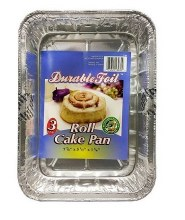 Durable Foil Roll Cake 3pk