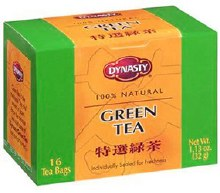 Dynasty Green Tea 16 bags