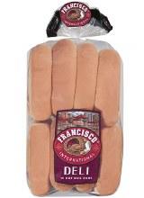 Francisco Hot Dog Buns 16 pack