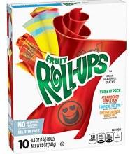 Fruit Roll-ups Variety 10 rolls