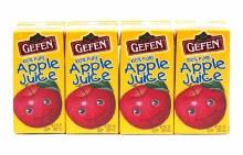 Gefen Apple Juice 4 x 200ml