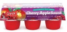 Gefen Apple Sauce Natural 6 x 4 oz