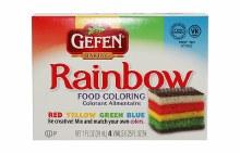 Gefen Food Coloring 4 x 0.25 oz