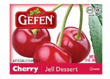 Gefen Jello Cherry 3.0 oz