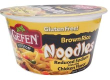 Gefen Noodles Bowl Low Sod 2.25 oz
