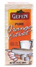Gefen Orange Extract 2 oz