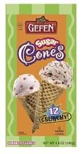 Gefen Sugar Cones 12 pcs