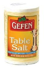 Gefen Table Salt 26 oz.