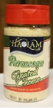 Grated Parmesan  --haolam 8 oz