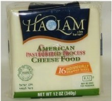 Haolam American Cheese 16 slices     White