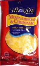 Haolam Mozzarella & Cheddar 8 oz   Shredded