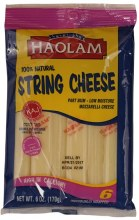 Haolam String Cheese 6 oz
