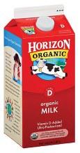 Horizon Organic Milk Half Gallon