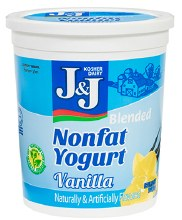 J & J Yogurt Vanilla 32 oz