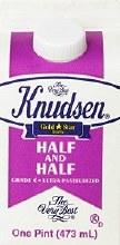 Knudsen Half & Half Pint