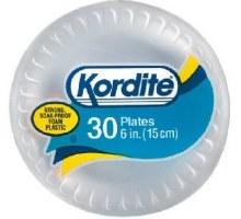 """Kordite 6""""  Plates 30 pcs"""