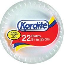 "Kordite Plate  8.8"" 22 pcs"