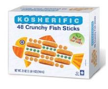 Kosherific Fish Sticks 25 oz