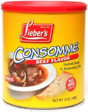 Liebers Consomme Beef 14 oz no msg