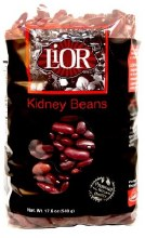Lior Red Kideny Beans 17.6 oz