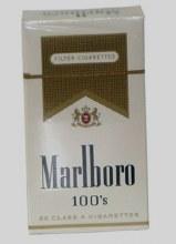 Marlboro 100's Gold