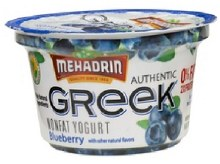 Mehadrin Greek Blueberry 6 oz