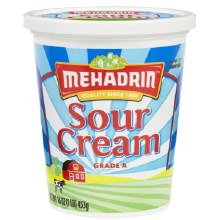 Mehadrin Sour Cream 16 oz