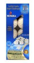 Menora Tea Lights 10 ct