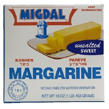 Migdal Margarine Bars 16 oz
