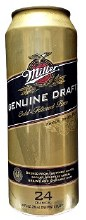 Miller Genuine Draft 24 oz can