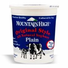 Mountain High Yogurt Orig. 32 oz