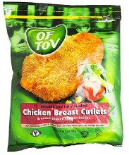 Of Tov Breast  Cutlets 32 oz