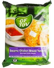 Of Tov Sesame Chicken Tender 16 oz