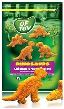 Of Tov Dinosaur Cutlets 32 oz