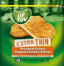 Of Tov X-tra Thin Cutlets 32 oz