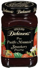Dickinsons Strawberry 10 oz