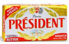 President Butter Bar 7oz