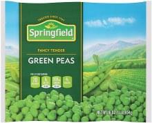 Springfield  Green Peas 16 oz