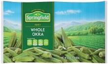 Springfield  Whole Okra 16 oz