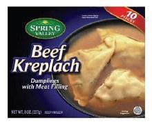 Spring V. Beef Kreplach 8 oz