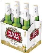 Stella Artois 6 x  11.2 oz