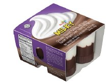 Strauss Mini Milky Pudding 4 pk