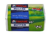 Tnuva Butter Unsalted 7.05 oz