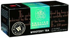 Wissotzky English Breakfast 25 cts