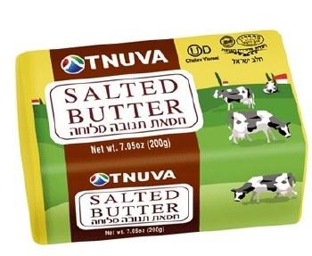 Tnuva Salted  Butter 7.05 oz