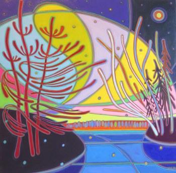 Darlene Kulig, Northern Lights Electric Sky
