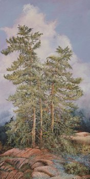 Lynne Schumacher, Pink Granite and Pines