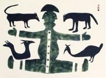 Anirnik Oshuitoq, Hunter Beckoning to Animals